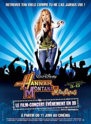 affiche Hannah Montana & Miley Cyrus: Concert Best of both worlds