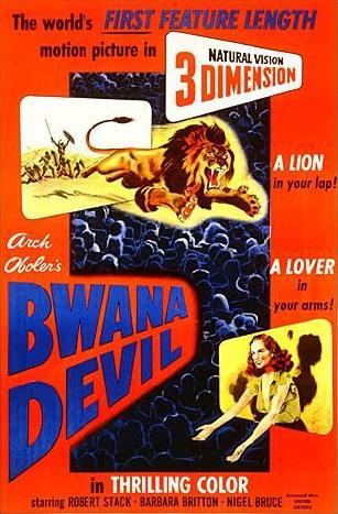 affiche du film Bwana Devil