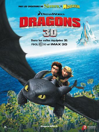 affiche Dragon (How to Train Your Dragon)