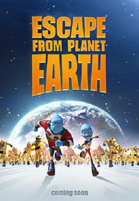 affiche du film Escape from Planet Earth