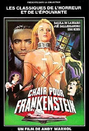 affiche Chair pour Frankenstein (Andy Warhol's Frankenstein)