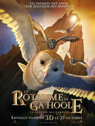 affiche Le Royaume de Ga'Hoole: La légende des Gardiens