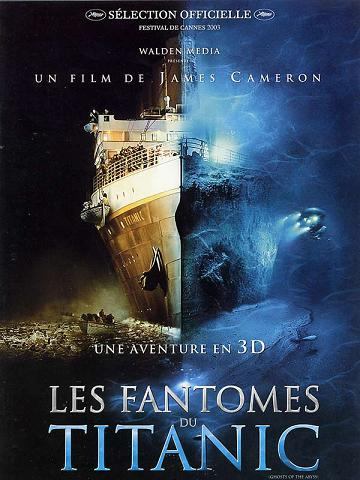 affiche Les Fantômes du Titanic (Ghosts of the Abyss)