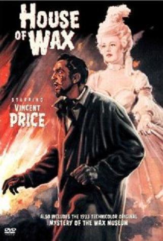 affiche L'homme au masque de cire (house of wax)