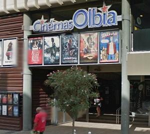 Cinéma 3D l'Olbia à Hyeres-les-palmiers