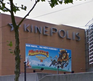 cinema 3D Kinepolis à mulhouse