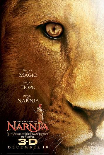 affiche Le Monde de Narnia: L'Odyssée du passeur d'aurore