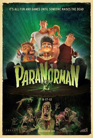 affiche du film L'étrange pouvoir de Norman (ParaNorman)