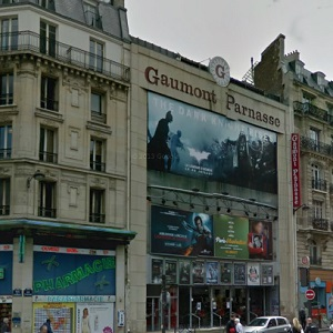 cinema 3D Gaumont Parnasse à Paris