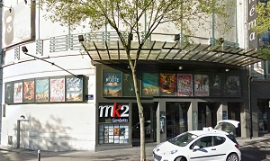cinema 3D MK2 Gambetta à Paris