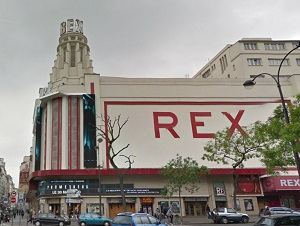 cinema 3D le grand Rex à Paris