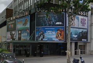 cinema 3D UGC Montparnasse à Paris
