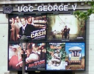 cinema 3D UGC George V à Paris