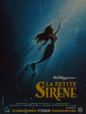affiche du film La Petite Sirène