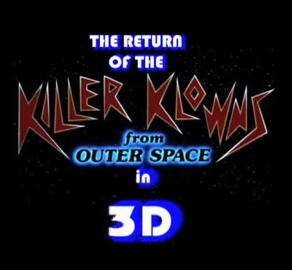 affiche du film Return Of The Killer Klowns From Outer Space