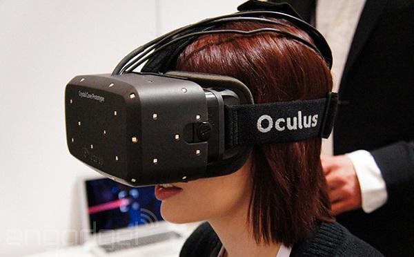 L'oculus rift en version prototype Crystal cove