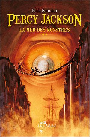 couverture du livre Percy Jackson: La mer des monstres