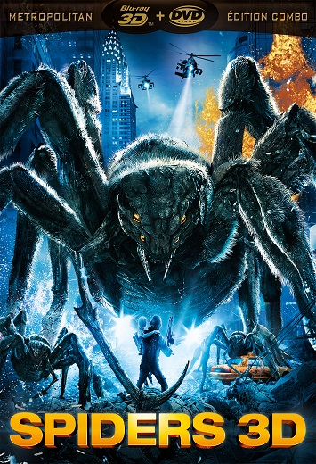 affiche Spiders 3D