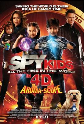 affiche Spy kids 4: All the time in the world