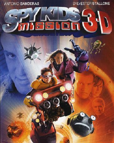affiche du film Spy kids mission 3D