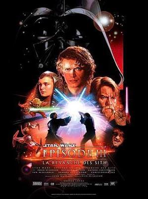 affiche du film Star Wars, épisode 3: La revanche des Sith