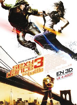 affiche Sexy Dance 3 (Step UP 3D)