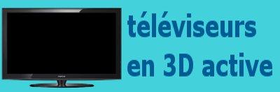 télévision 3D active.
