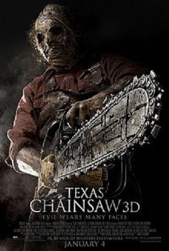 affiche du film Massacre à la tronçonneuse 3D