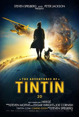 affiche Tintin: Le Secret de la Licorne