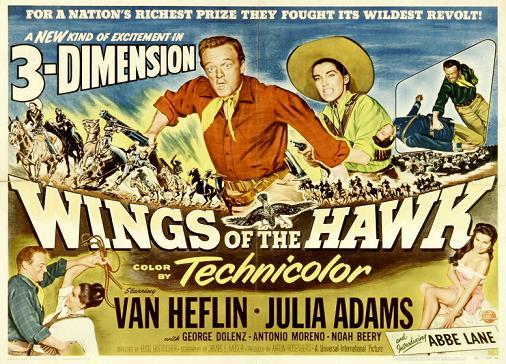 affiche Révolte au Mexique (Wings of the Hawk)