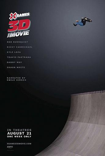 affiche X-Games 3D: The Movie