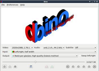 Bino 3D, visionneuse 3D
