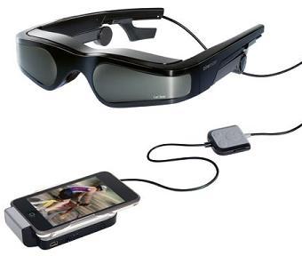 lunettes 3D de réalité virtuelle cinemizer plus de Carl Zeiss
