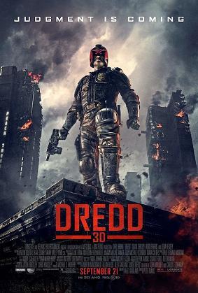 affiche Dredd 3D