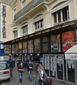 cinema 3D l'Ermitage à fontainebleau