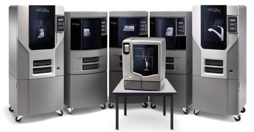 La gamme d'imprimantes 3D de dimension stratasys