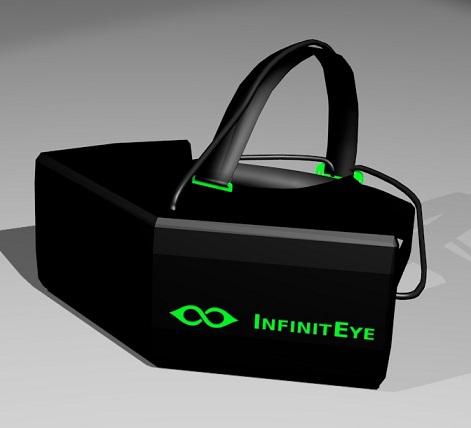 Prototype du casque InfinitEye