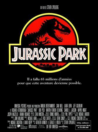 affiche Jurassic Park 3D