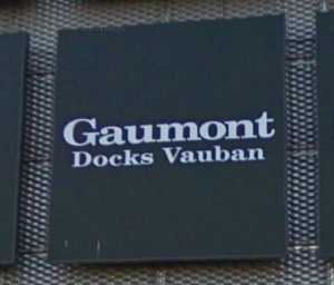 cinema 3D Gaumont Docks Vauban Le Havre