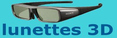 lunettes 3D.