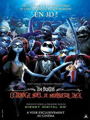 affiche du film L'étrange Noël de M. Jack 3D