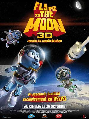 affiche Fly Me to the Moon (les mouchonautes)