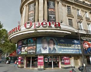 cinema 3D Gaumont Opera Capucines à Paris
