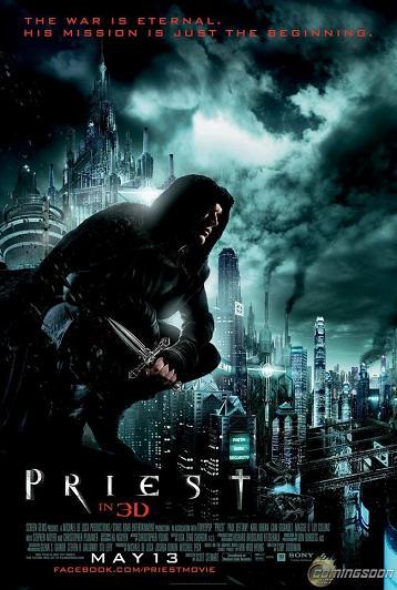 affiche priest 3d