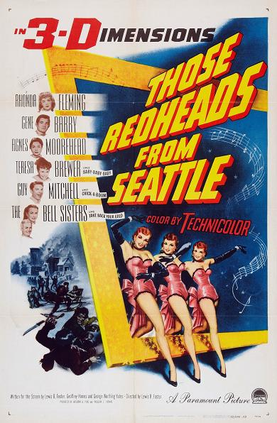 affiche du film Those Redheads from Seattle