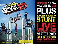 affiche nitro circus 3d the movie