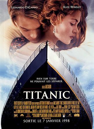 affiche Titanic 3D