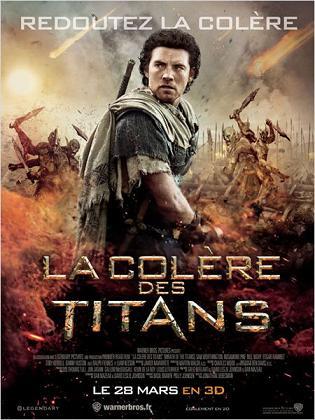 affiche La Colère des Titans (Le choc des titans 2)