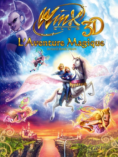 affiche Winx Club 3D, L'Aventure Magique