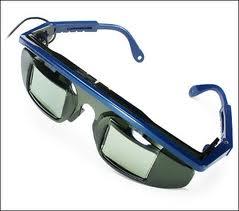 lunettes 3D stéréoscopiques x3D